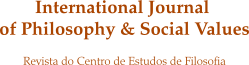 logotipo da revista International Journal of Philosophy and Social Values